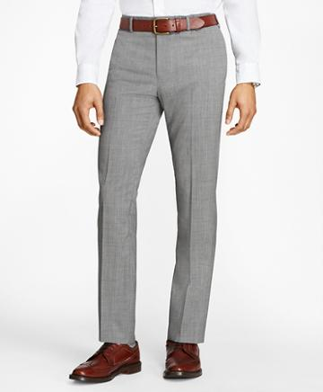 Brooks Brothers Tick-weave Wool Suit Trousers