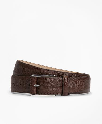 Brooks Brothers Textured Leather Belt
