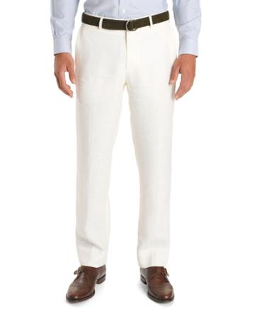 Brooks Brothers Fitzgerald Fit Plain-front Herringbone Trousers
