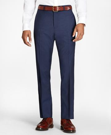 Brooks Brothers Pinstripe Wool Suit Trousers