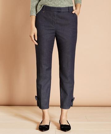 Brooks Brothers Stretch Cotton Denim Slim-fit Pants