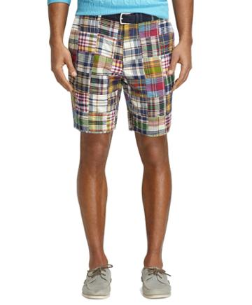 Brooks Brothers 9 Patchwork Madras Shorts