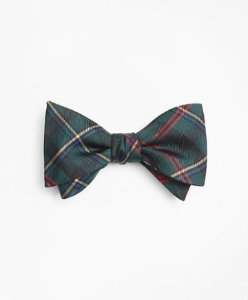 Brooks Brothers Malcom Tartan Bow Tie