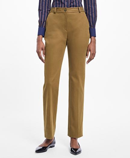 Brooks Brothers Stretch-cotton Twill Pants