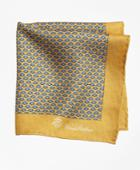 Brooks Brothers Men's Owl And Fox Pocket Square