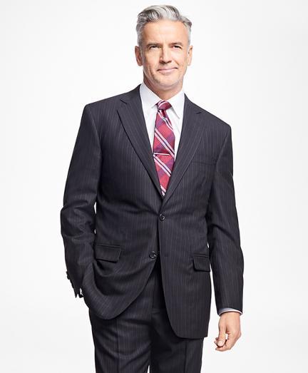 Brooks Brothers Golden Fleece Madison Fit Alternating Stripe Suit