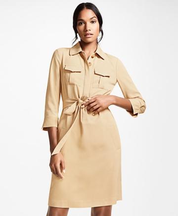 Brooks Brothers Twill Shirt Dress
