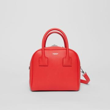 Burberry Burberry Small Leather Cube Bag, Red