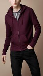 Burberry Jersey Hooded Top
