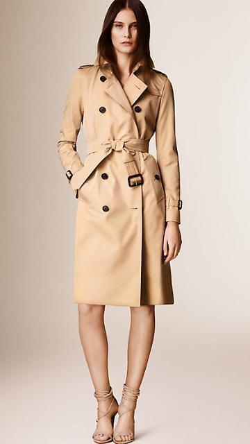 Burberry The Kensington -extra Long Heritage Trench Coat
