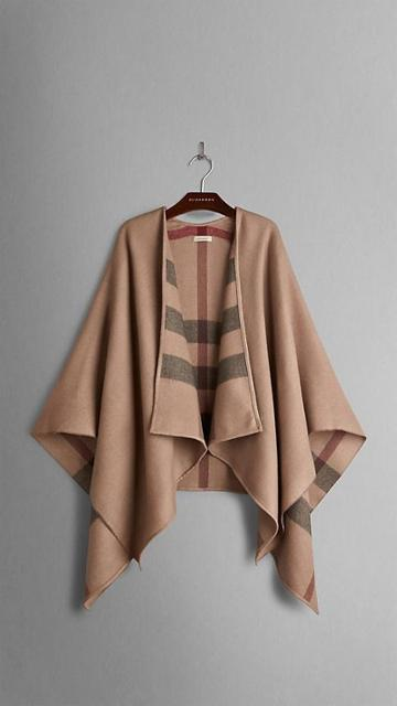 Burberry Extra Fine Merino Wool Cape