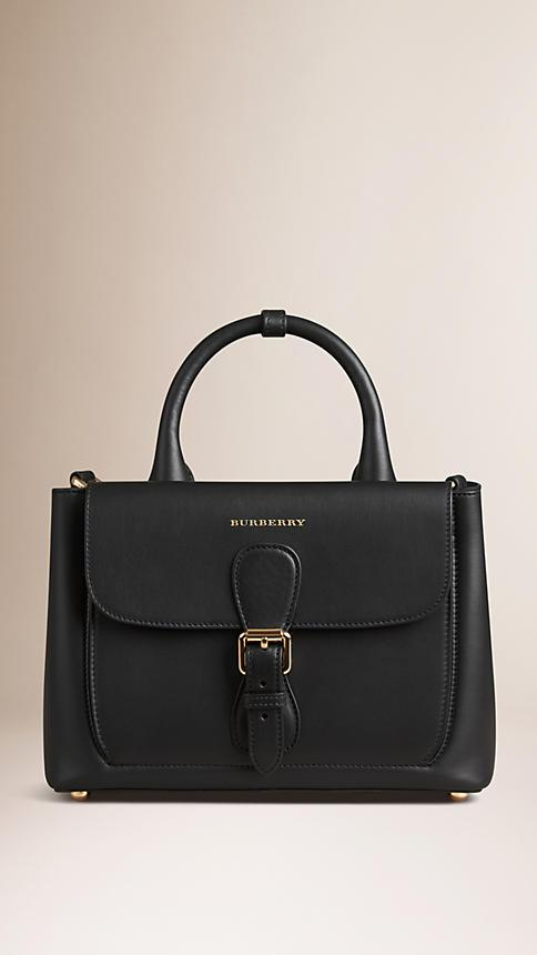 Burberry The Small Saddle Bag In Smooth Bonded Leather
