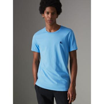 Burberry Burberry Cotton Jersey T-shirt, Size: Xl, Blue