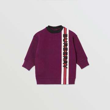 Burberry Burberry Childrens Logo Print Jersey Sweater Dress, Size: 2y, Red