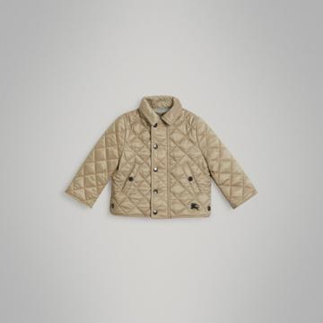 Burberry Burberry Childrens Lightweight Diamond Quilted Jacket, Size: 3y