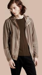 Burberry Ultra-lightweight Jacket With Hood