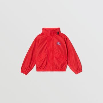 Burberry Burberry Childrens Packaway Hood Shape-memory Taffeta Jacket, Size: 3y, Red