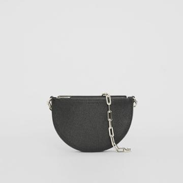 Burberry Burberry The Small Leather D Bag, Black