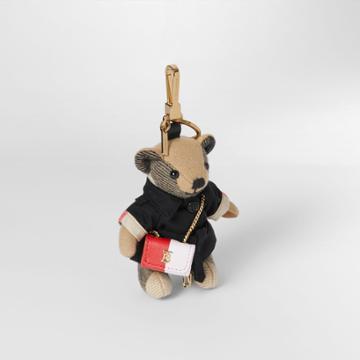Burberry Burberry Thomas Bear Charm With Lola Bag, Beige