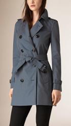 Burberry Lightweight Cotton Gabardine Trench Coat