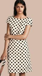 Burberry Online Exclusive Swiss Lace Shift Dress