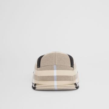 Burberry Burberry Check Cotton Canvas Jacquard Cap