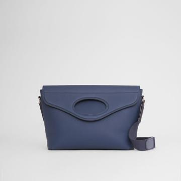 Burberry Burberry Grainy Leather Pocket Messenger Bag