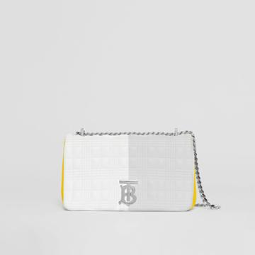 Burberry Burberry Small Quilted Tri-tone Lambskin Lola Bag