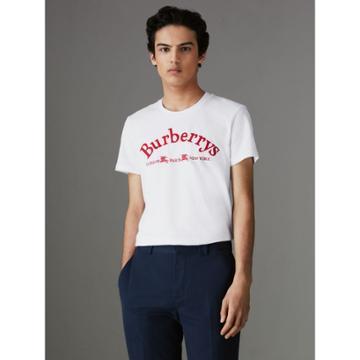 Burberry Burberry Archive Logo Cotton T-shirt