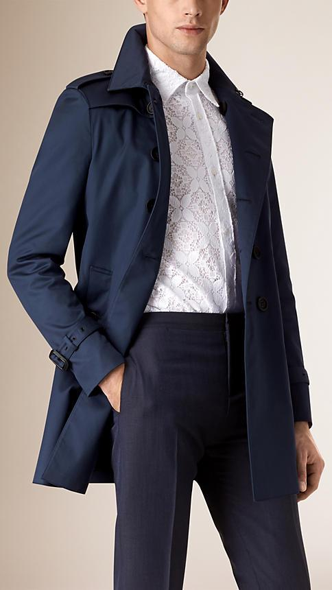 Burberry Cotton Silk Trench Coat