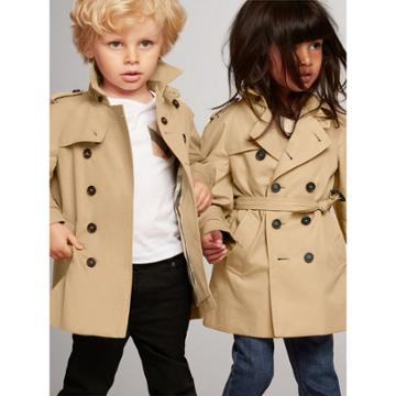 Burberry Burberry Childrens The Wiltshire Trench Coat, Size: 12m, Yellow