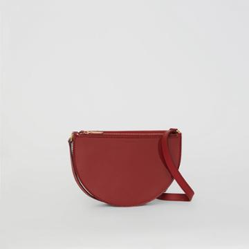 Burberry Burberry The Small Patent Leather D Bag, Red