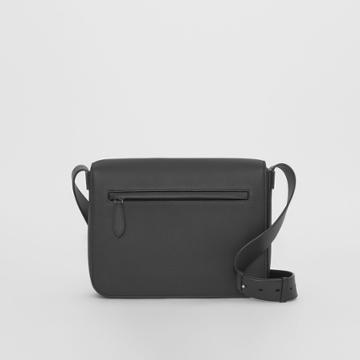 Burberry Burberry Small Grainy Leather Messenger Bag