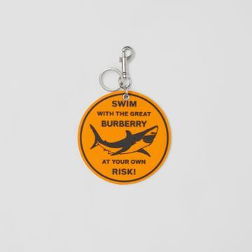 Burberry Burberry Shark Graphic Key Ring