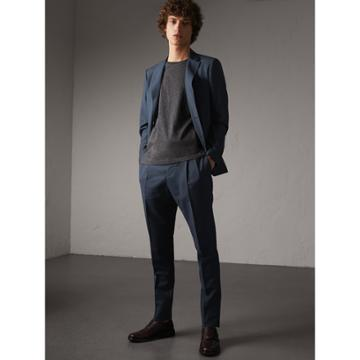 Burberry Burberry Slim Fit Wool Mohair Suit, Size: 48r, Blue