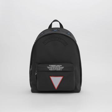 Burberry Burberry Badge Appliqu Nylon Backpack