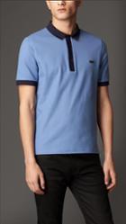Burberry Mercerised Cotton Polo Shirt