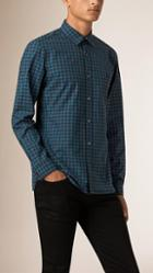 Burberry Gingham Cotton Shirt
