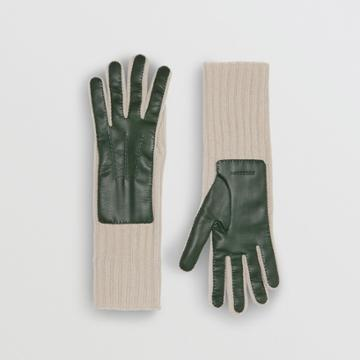 Burberry Burberry Cashmere And Lambskin Gloves