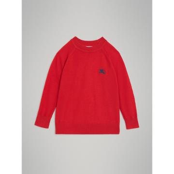 Burberry Burberry Childrens Crew Neck Cashmere Sweater, Size: 14y