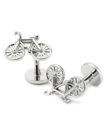 Bicycle Cufflinks By Charles Tyrwhitt
