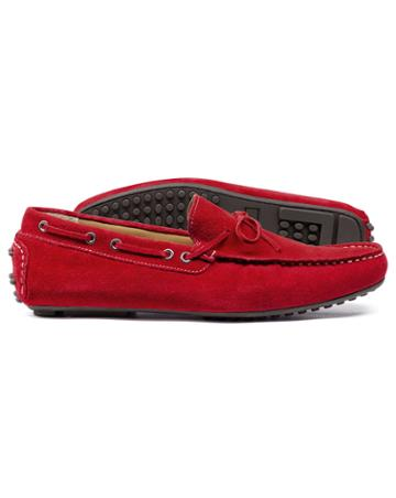 Red Driving Loafer Size 11 By Charles Tyrwhitt