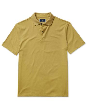 Chartreuse Aircool Cotton Polo By Charles Tyrwhitt