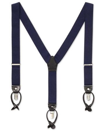 Navy Combination Suspenders By Charles Tyrwhitt