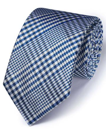 Charles Tyrwhitt Royal Silk Classic Prince Of Wales Checkered Tie By Charles Tyrwhitt