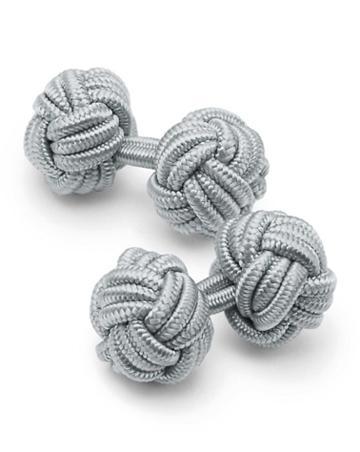 Grey Knot Cufflinks By Charles Tyrwhitt