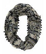 Charlotte Russe Paisley Scarf