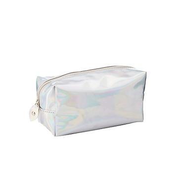 Charlotte Russe Holographic Makeup Bag