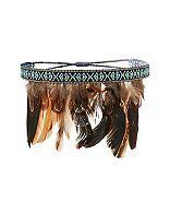 Charlotte Russe Feather Headband