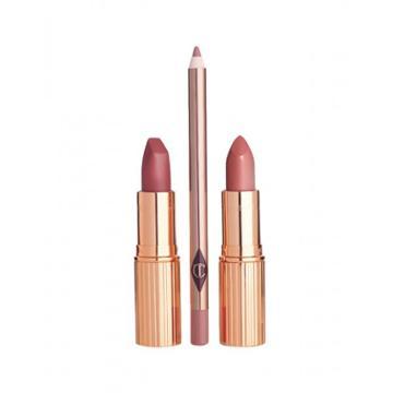 Charlotte Tilbury Pretty Pink Lipstick Duo Lip Kits